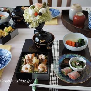 桃の節句の食卓