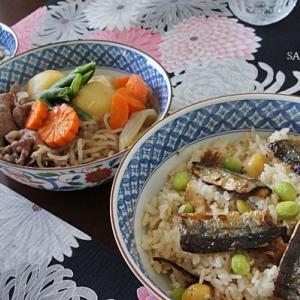 秋刀魚ごはん