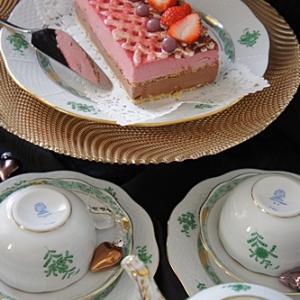 ヴァレンタインデーのケーキ