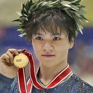 宇野昌磨選手 GPS  NHK杯優勝