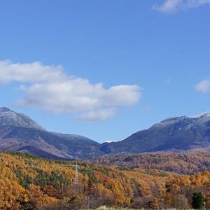 晩秋の八ヶ岳山麓