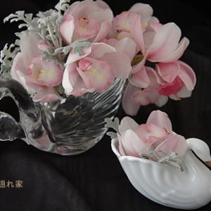 スワンの花器
