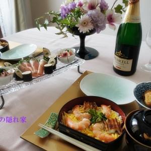 ひな祭りの食卓