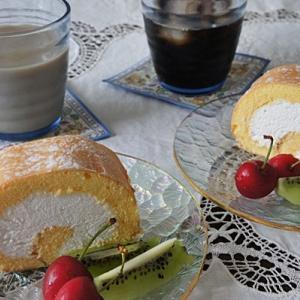 移動販売のケーキ