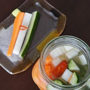 スティック野菜のポリポリ