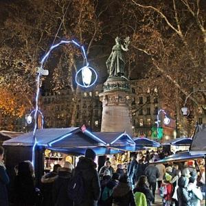 リヨンのクリスマスマーケット