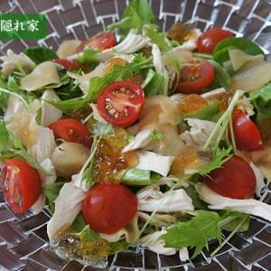 新生姜の甘酢漬けサラダ
