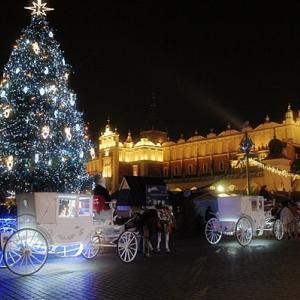 クリスマスシーズンのポーランド