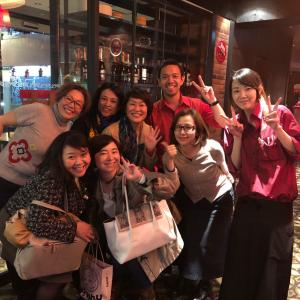 昨日は渋谷アチェーゾで月輝会世話役人会♪
