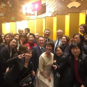 昨日は石破先生のパーティーへ参加して参りました!