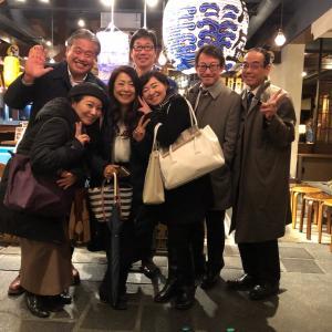 昨日は、魚盛新宿三丁目店でB型会のの忘年会♪