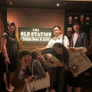 オールドステーション東京店で異業種交流会♪
