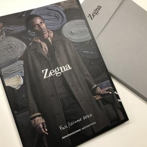 やっと届いたErmenegildo Zegna(エルメネジルド・ゼニア)プレタポルテカタログ