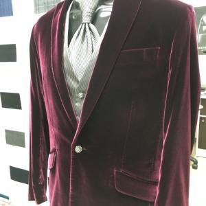昔作ったベルベットのジャケットが登場すること無く悲しい思いをしている