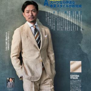 リネン(麻)生地のスーツを着こなす大人は本当にオシャレ!夏素材を生かせる紳士になる
