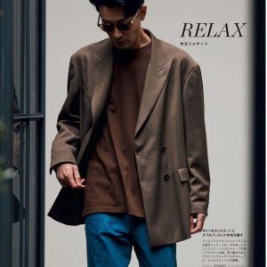 ゆる感ある「ゆるジャケット」は浸透するのだろうか?単純にサイズ合っていない服って感じが・・・
