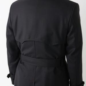 冬のためのオーダーコート準備/今年はロング丈のトレンチコートが狙い目で素材はウール