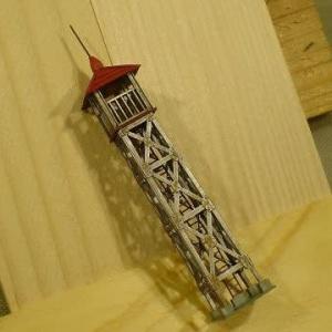 2020/09/18 消防分団と火の見櫓5 梯子を作ってみた