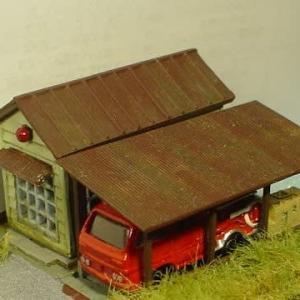 2020/09/25 消防分団と火の見櫓6 消防車車庫
