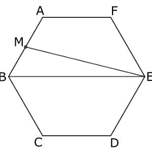 四角形は五角形の何倍?(近畿大学附属広島中学福山校 2019年)