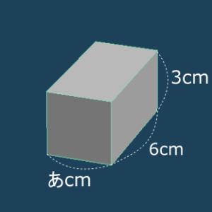 長さと表面積は?(神戸女学院中学部   2019年 )