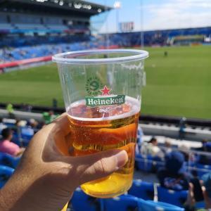 一生に一度だから、ラグビーワールドカップ観戦。