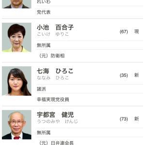 東京都知事選の予想