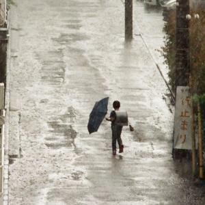 土砂降りの日のこと