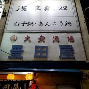 平井豊田屋で通称痛風鍋
