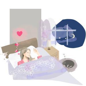健やかな眠り〜せんねん灸妊活サイトより