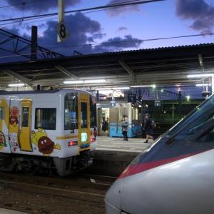 2018年12月・松山駅ホーム