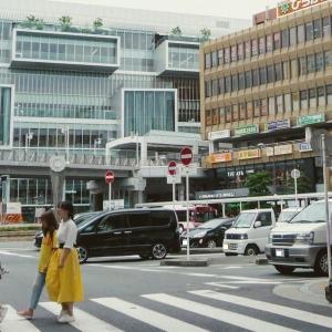 京阪電車・枚方市駅付近