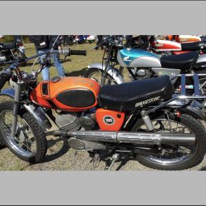 ブリヂストン製バイク