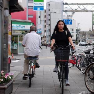 2017年9月恵美須町駅付近