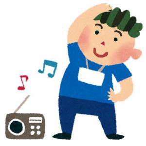 ラジオ体操、やってます。