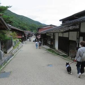 思い立って奈良井宿へ