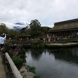 ほうとうと湧水と富士宮焼きそば 湧水の巻