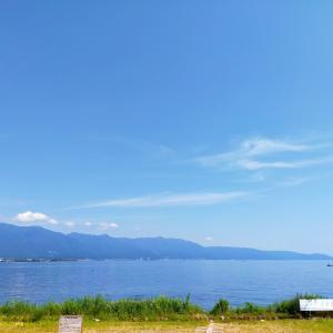 琵琶湖のほとりへ