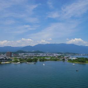 琵琶湖大橋から