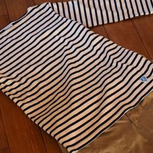ワンマイルウェアにヘビロテのバスクシャツ