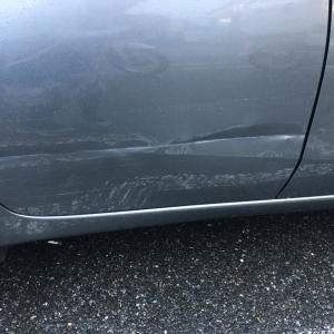 納車24時間経たずに事故に遭いました