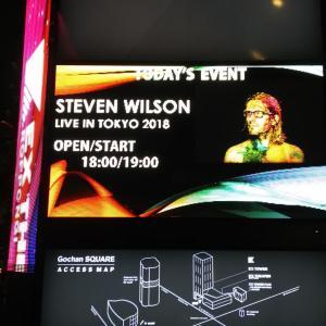 実録 スティーヴン・ウィルソン 初ソロ来日公演 ハードな嵐の初日