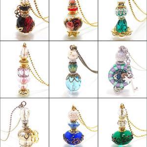 ツイッター10周年記念★小瓶ネックレス100種をご紹介!