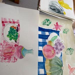 9月の絵画教室うさぎの芽は秋満載!