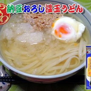 納豆おろし温玉うどん(やわ麺)