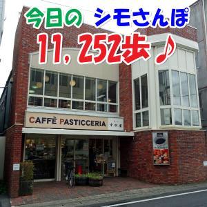 今日のシモさんぽ・・・11,252歩 ♪