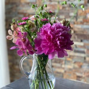 お花を飾ってリフレッシュ!