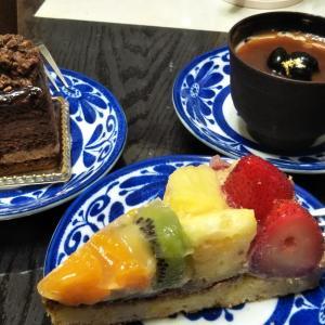 お土産ケーキ♪