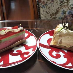 ご褒美ケーキ♪