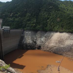 宇連ダム 貯水率01%